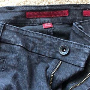 Banana republic black flare jeans